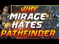 Why Mirage Hates Pathfinder : Apex Legends Theory (Season 5)