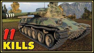 TVP T 50/51 - 11 Kills - 11K Damage - World of Tanks Gameplay