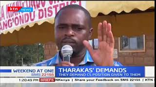 Tharaka Nithi leaders: We ask the Presidency to appoint one of our own to the Cabinet