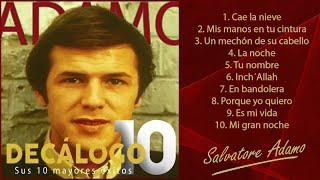 """Adamo - Sus 10 Mayores éxitos (Colección """"Decálogo"""")"""