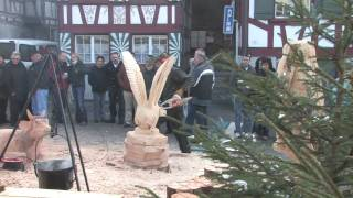 preview picture of video 'Adventsmarkt 2008 in Weinfelden (CH)'