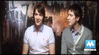 Джеймс и Оливер Фелпс, Final Harry Potter interviews - Weasley Twins (Oliver Phelps & James Phelps)