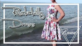 Grace Karin Pretty Vintage Rockabilly Dress Review | Caitlyn Kreklewich