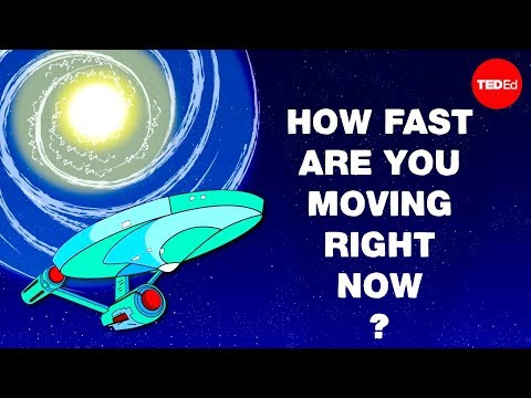 How Fast Are You Moving Right This Second?