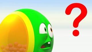 Wonderballs - quem é melhor | Animados engraçados | Aprenda cores | vídeos infantis ABCs 123s