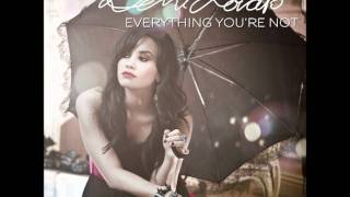 """Demi Lovato """"Everything You´re Not"""" AUDIO"""