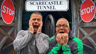 Spooky Narrowboat Journey through Harecastle Tunnel on the Trent & Mersey Canal