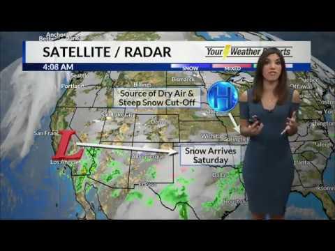 Elisa Raffa - KOLR10 Weather - Friday 5AM 12/7/18 - смотреть