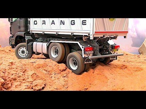STUNNING RC TRUCK MAN 6x6 INCREDIBLE HILL CLIMB - ScaleART