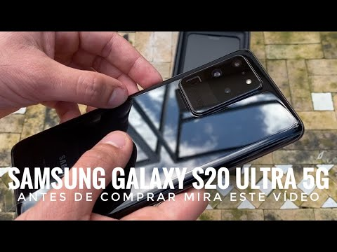 Samsung Galaxy S20 Ultra 5G - Antes de Comprarlo Mira este Vídeo