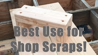 The BEST Use for Scrap Lumber!
