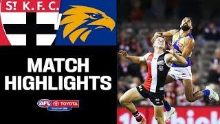 St Kilda V West Coast Highlights | Round 8, 2019 | AFL