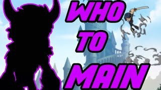 Top 10 BEST CHARACTERS TO MAIN 2020 brawlhalla