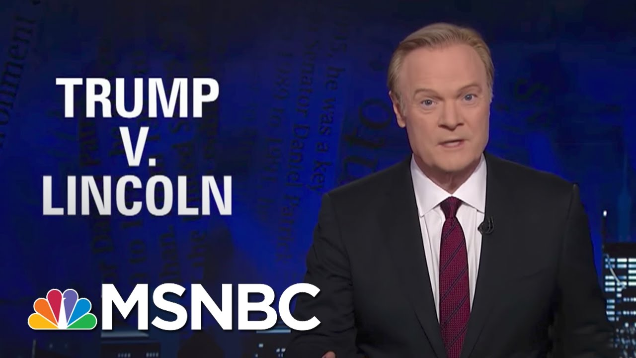 Lawrence On What President Donald Trump's Civil War Comments Reveal | The Last Word | MSNBC thumbnail
