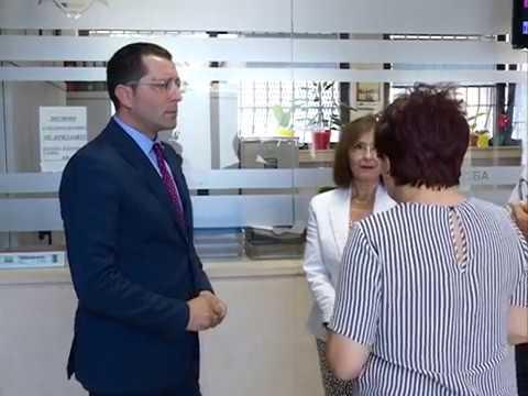 Drzavni sekretar Bojan Stević u poseti Smederevu