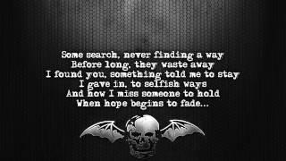 Avenged Sevenfold - Dear God [Lyrics on screen] [Full HD]