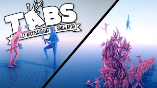 TABS - Zombie Horde and Stone Age Cavemen! - Totally Accurate Battle Simulator