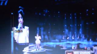 hanin ''' yang terbaik''rising star final music