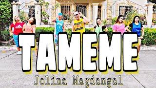 TAMEME ( Dj Yuan Bryan Remix ) - Jolina Magdangal   Dance Fitness   Zumba