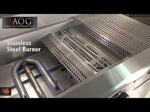 AOG L-Series Gas Grill Features