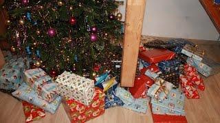 Vánoce 2016 Rozbalování dárků