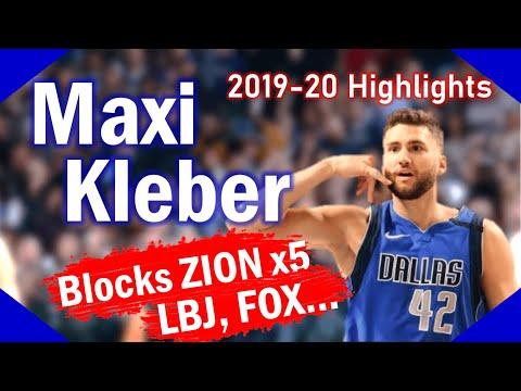 Maxi Kleber 2019-20 Season BEST Highlights - Dallas Mavericks