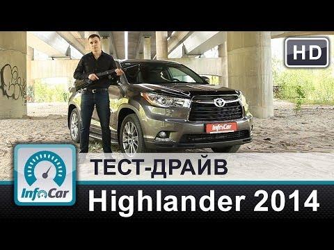 Toyota  Highlander Паркетник класса J - тест-драйв 2