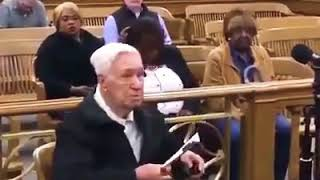 Judge Frank Caprio dismisses a speeding violation to a 96 year old man