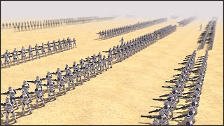 CLONE WARS LINE BATTLE - Star Wars: Galaxy at War Mod Gameplay