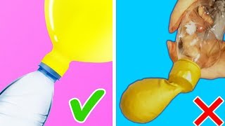 Testing Cool Life Hacks with Balloons | Life Hack HACKS