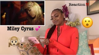 Miley Cyrus  Slide Away REACTION VIDEO 💕