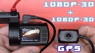 А ТЕПЕРЬ ТОПОВЫЙ ВИДЕОРЕГИСТРАТОР С ДВУМЯ КАМЕРАМИ Mini 0906 c ПУЛЬТОМ и GPS!