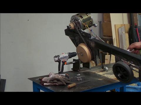 🔨Sega troncatrice a nastro per ferro fai da te Terza Parte (DIY metal saw)