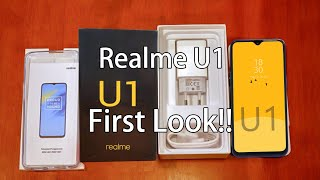 Realme U1 - First Look - Price & Specifications - LEAKED!!