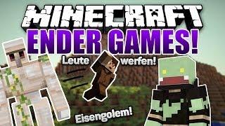AUA Das Pickt Kaktus Minecraft ENDER GAMES SERIE - Minecraft endergames spielen