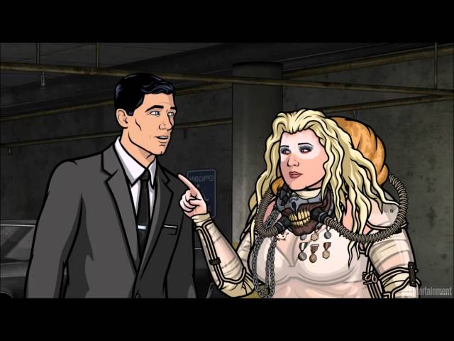 archer hates comic con the awesomer. Black Bedroom Furniture Sets. Home Design Ideas