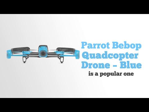 Parrot Bebop Quadcopter Drone Blue