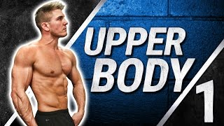 Ripped Upper Body In 20 minutes! FULL WORKOUT | CHEST, BACK, SHOULDERS & ARMS | HOME EDITION by ScottHermanFitness