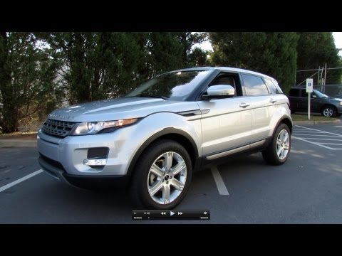 2012 Range Rover Evoque In-Depth Tour