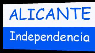 preview picture of video 'Himno de Alicante - Alicante Independencia'