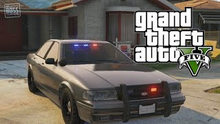 GTA 5 Online: Undercover Cop Car & How To Store Police Vehicles (GTA V)