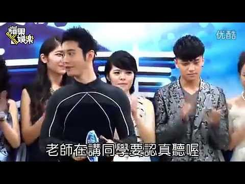 Huang Xiaoming 黄晓明: News Report On Chinese Idol 中国梦之声 Press Event From 23 June 2013