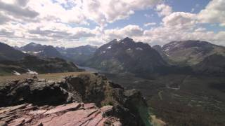 Trip video up to Scenic Point, then out to East Glacier.