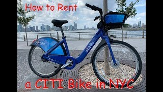 How to Rent a Citi Bike in NYC