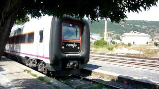 preview picture of video '594 TRD Renfe saliendo de Jaca'