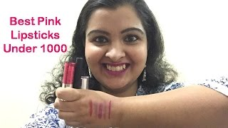 Image for video on Best Pink Lipsticks | Under Rs. 1000 | Ideal for Summers by Beautiful Within