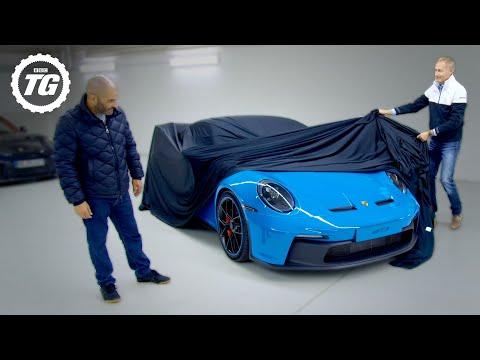 Porsche 911 GT3 lấp ló