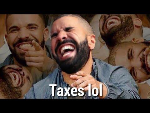 Drake hasn't paid his taxes