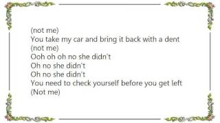 Isyss - Oh No She Didn't Lyrics