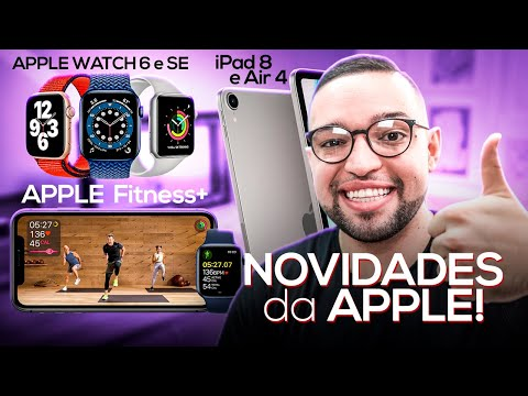 APPLE WATCH 6 e SE, iPad 8 e Air 4, Fitness+, Apple ONE e iOS 14! CONFIRA TODAS AS NOVIDADES APPLE!
